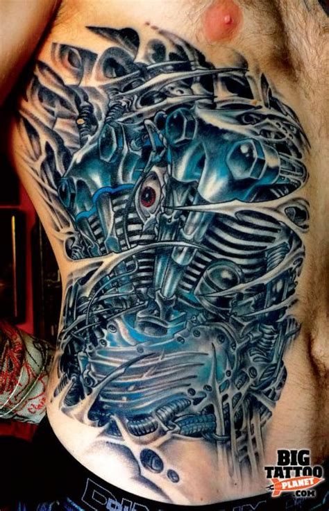 biomechanical motor tattoo quick fire questions d grrr biomechanical tattoo big