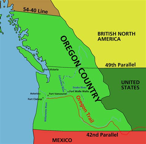 map of oregon territory 1846 opinions on oregon country