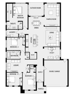 House Floor Plans On Pinterest Home Floor Plans House New House Plans Adelaide