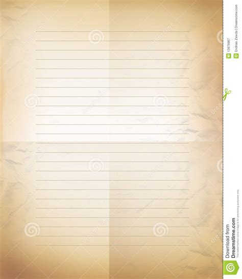letter paper background stock illustration illustration