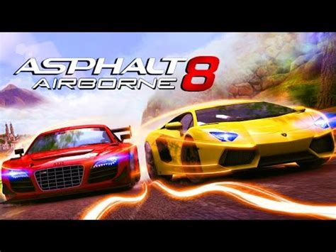 asphalt  airborne racing car game cartoon  kids