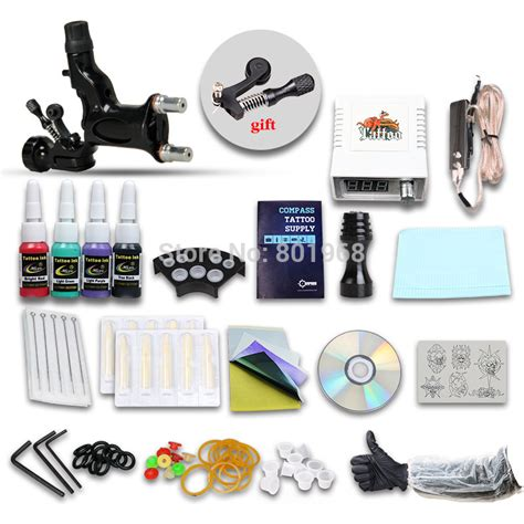 professional rotary tattoo kits beginner kit set 1 rotary machine