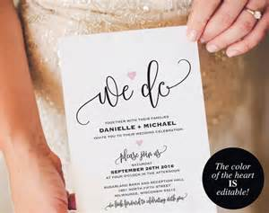 Wedding Photo Invitation Templates by We Do Wedding Invitation Template Wedding Invitation