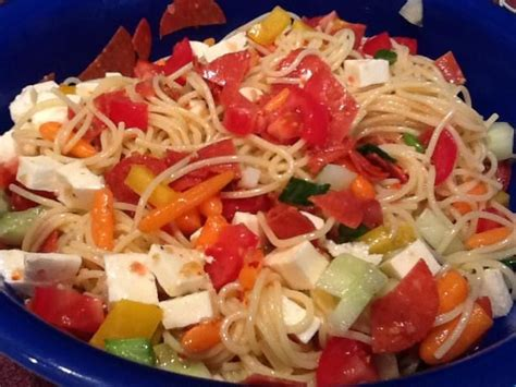 cold salad ideas best 25 cold spaghetti salad ideas on pinterest