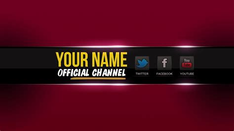 youtube channel layout creator youtube one channel change your youtube channel art banner