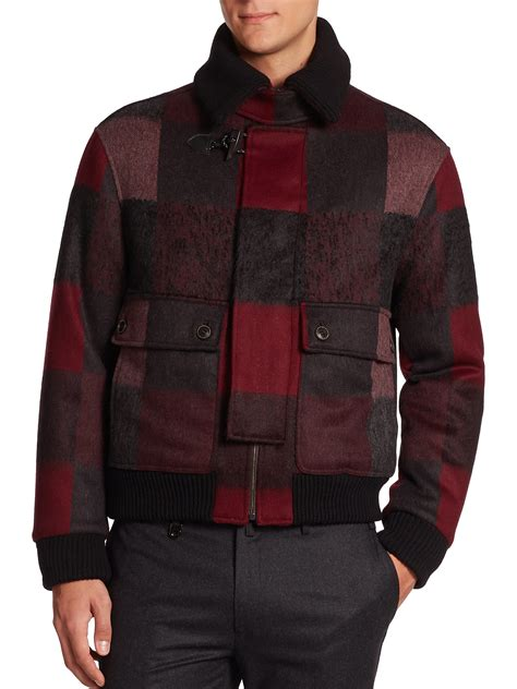 Patchwork Jackets - ferragamo patchwork bomber jacket for lyst
