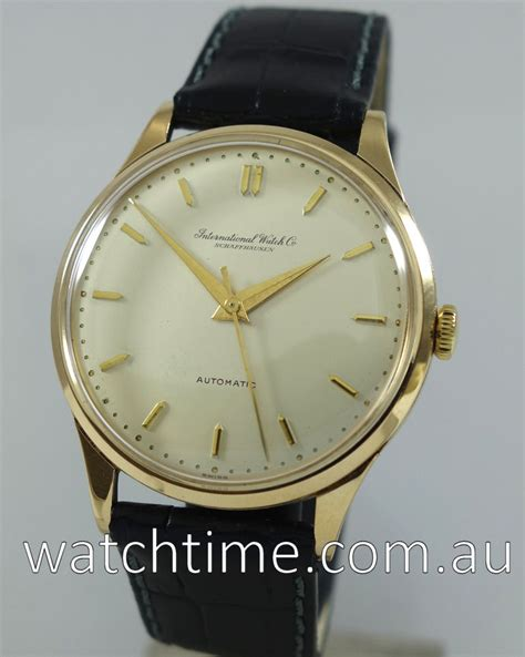 iwc watches melbourne