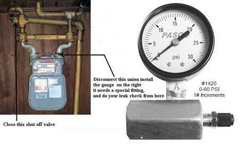 Plumbing Test by Gas Line Pressure Testing For Inspection Page 2