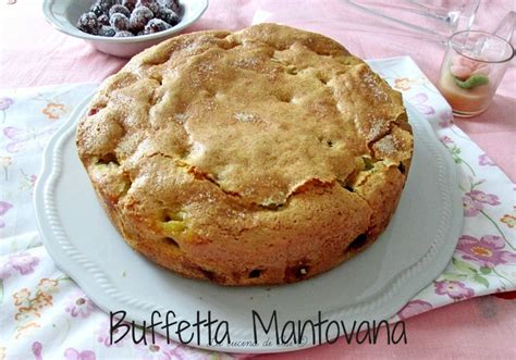 ricetta torta mantovana soffice buffetta mantovana torta regionale soffice con chicchi d uva
