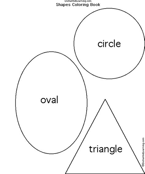 oval face shapes coloring page free worksheets 187 oval shape template free math