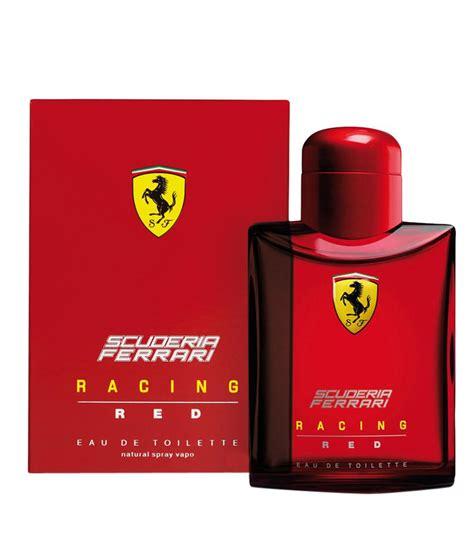 Parfum Scuderia Edt 125ml scuderia racing edt 125 ml buy at best prices in india snapdeal