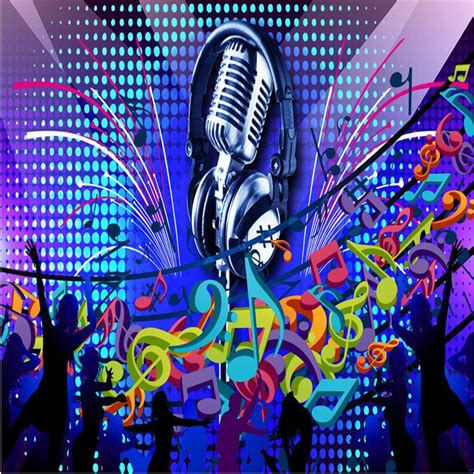 80s Home Decor by Aliexpress Com Buy Wallpaper 3d Microphone Singing