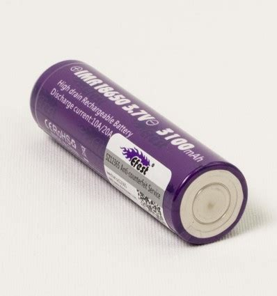 Efest Purple Imr 18650 Li Mn Battery 3 7v 30a efest purple imr 18650 li mn battery 3100mah 3 7v 20a with flat top 18650v1 purple