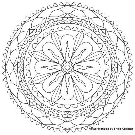 mandala coloring pages spring unique spring easter holiday adult coloring pages