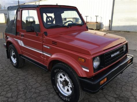 jeep suzuki samurai for sale used suzuki samurai for sale on craigslist autos post