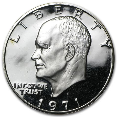 1971 s 40 silver eisenhower dollar gem proof eisenhower dollars 1971 1978 apmex
