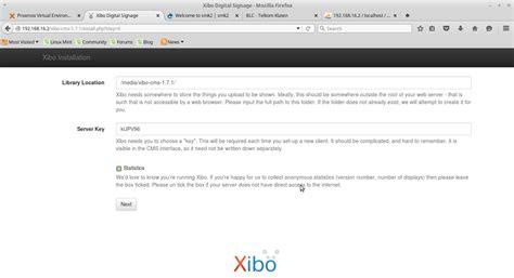 tutorial menggunakan xibo cara membuat aplikasi digital signage menggunakan cms xibo