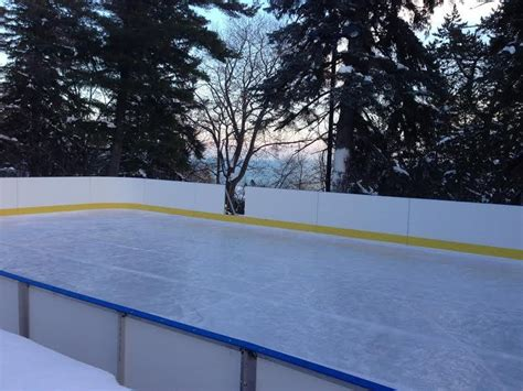 D1 Backyard Rinks Synthetic Ice Basement Or Backyard Backyard Rink Kits