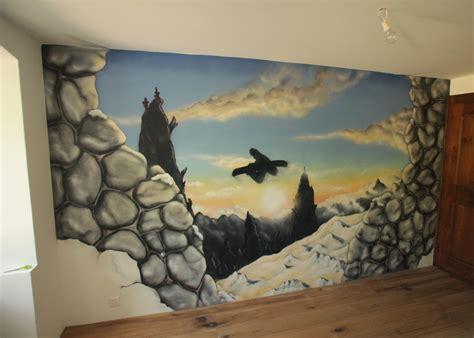chambre graffiti snowboard