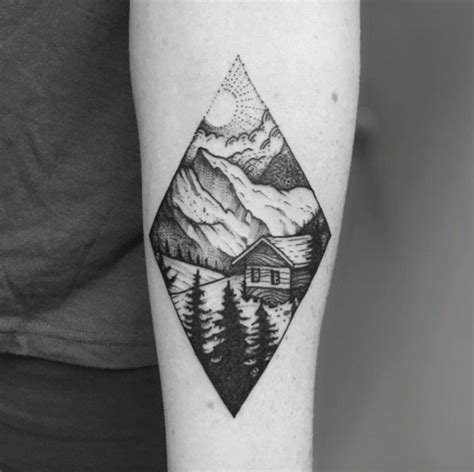 scenery tattoo designs best 25 scenery ideas on winter