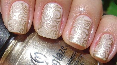 Wedding Bell Nail by The Bridal Manicure