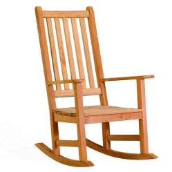 Furniture inspiring simple wood rocking chairs design with arms and