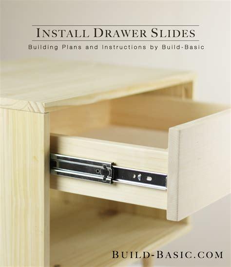 installing kitchen drawer slides