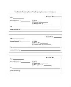 receipt template free sle receipt templates 19 free documents in