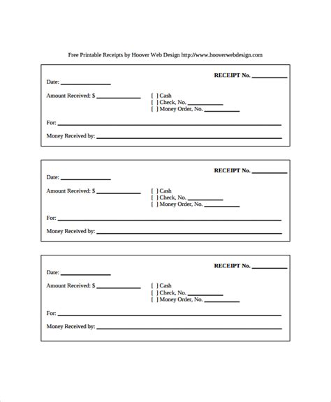 In Receipt Template by 28 Receipt Templates Sle Templates