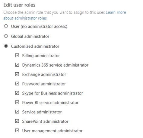 Office 365 Portal Administrator Roles Reporting Office 365 Admin Members