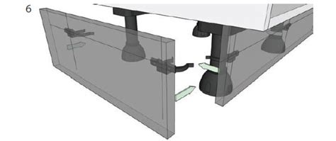Kitchen Cabinet Price how to adjust unit legs and attach plinth diy kitchens