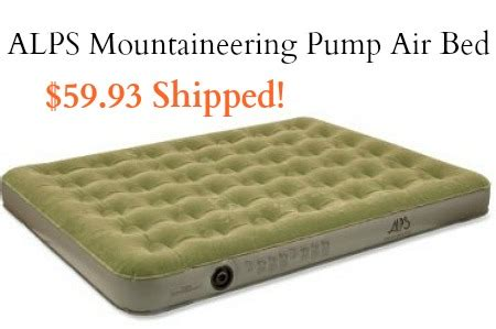 alps mountaineering rechargeable air bed alps mountaineering alps mountaineering rechargeable pump