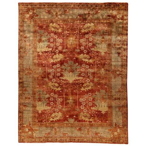 kitchen rugs 6ft safavieh oushak green 6 ft x 9 ft area rug osh108a 6 the home depot