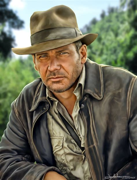 Harrison Ford Is Back As Indiana Jones And More indiana jones harrison ford by maxhitman on deviantart