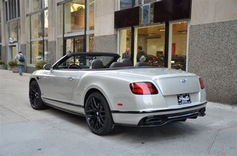 bentley convertible 2018 2018 bentley continental supersports convertible