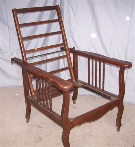 morris recliner chair antique oak morris chair recliner ebay