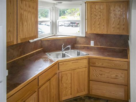 Custom Cabinets Kitchen by Natural Oak Kitchen Cabinets With Laminate Counter