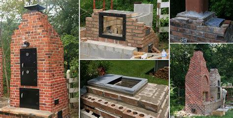 how to build a backyard smoker how to build a brick smoker home design garden architecture blog magazine