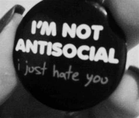 Antisocial Black antisocial black and white image 4017997 by lucialin on favim