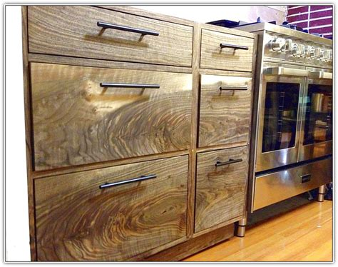black walnut kitchen cabinets charming walnut kitchen cabinets home design ideas 2