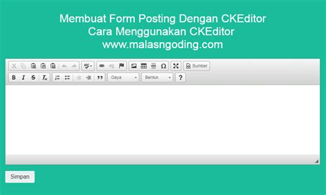 cara membuat form login admin dan user dengan php cara memasang ckeditor pada form dengan mudah archives