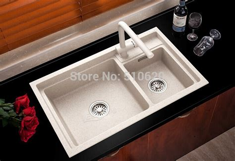 Quality Kitchen Sinks Free Shipping High Quality Fq790 Granite Kitchen Sink Sink With Tap In