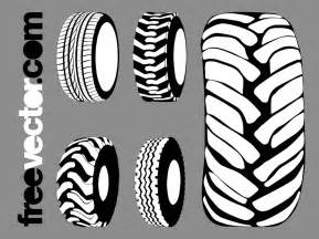tires graphics set vector graphics freevector