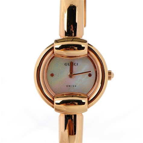 gucci stainless steel gold 27mm quartz