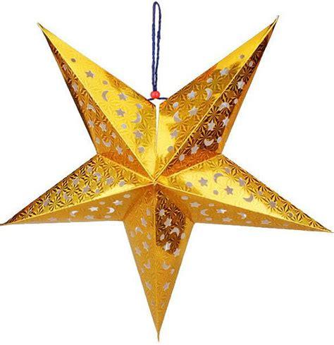 Hiasan Klip Natal Klip Gold jual hiasan natal bintang 3d nc0012 hardwin