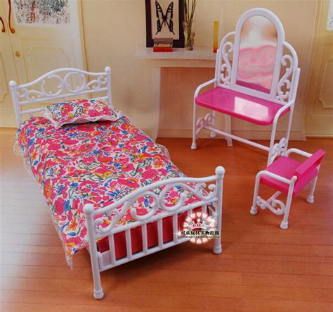 2014 new doll furniture accessories for barbie sofa 2015 new furniture accessories for barbie doll bed dresser