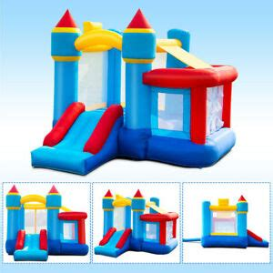 kids outdoor inflatable bouncy bounce house blow  castle
