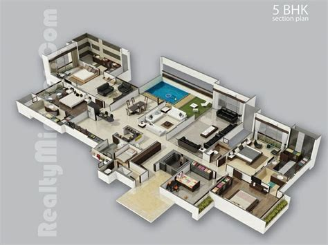 Beautiful Houses With Floor Plans 24 Best Images About 3d House Plans On Pinterest