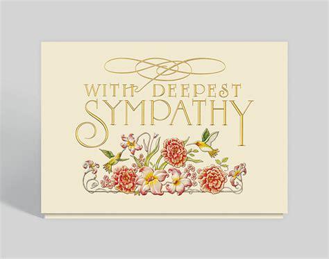 garden sympathy card   gallery collection