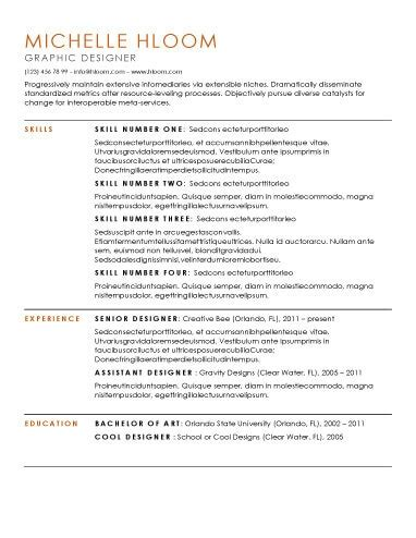 Hloom Resume by Clean Resume Template Health Symptoms And Cure